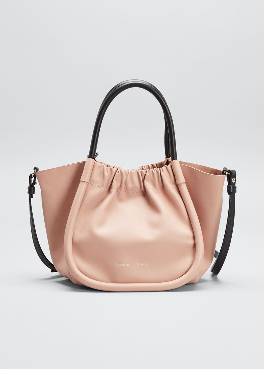 Proenza Schouler Ruched Top Handle Tote Bag