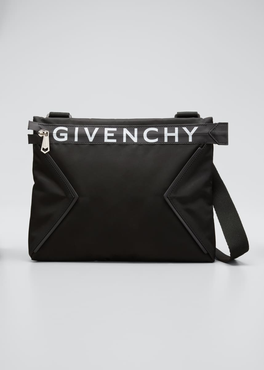 Givenchy Men's Spectre Flat Crossbody Bag