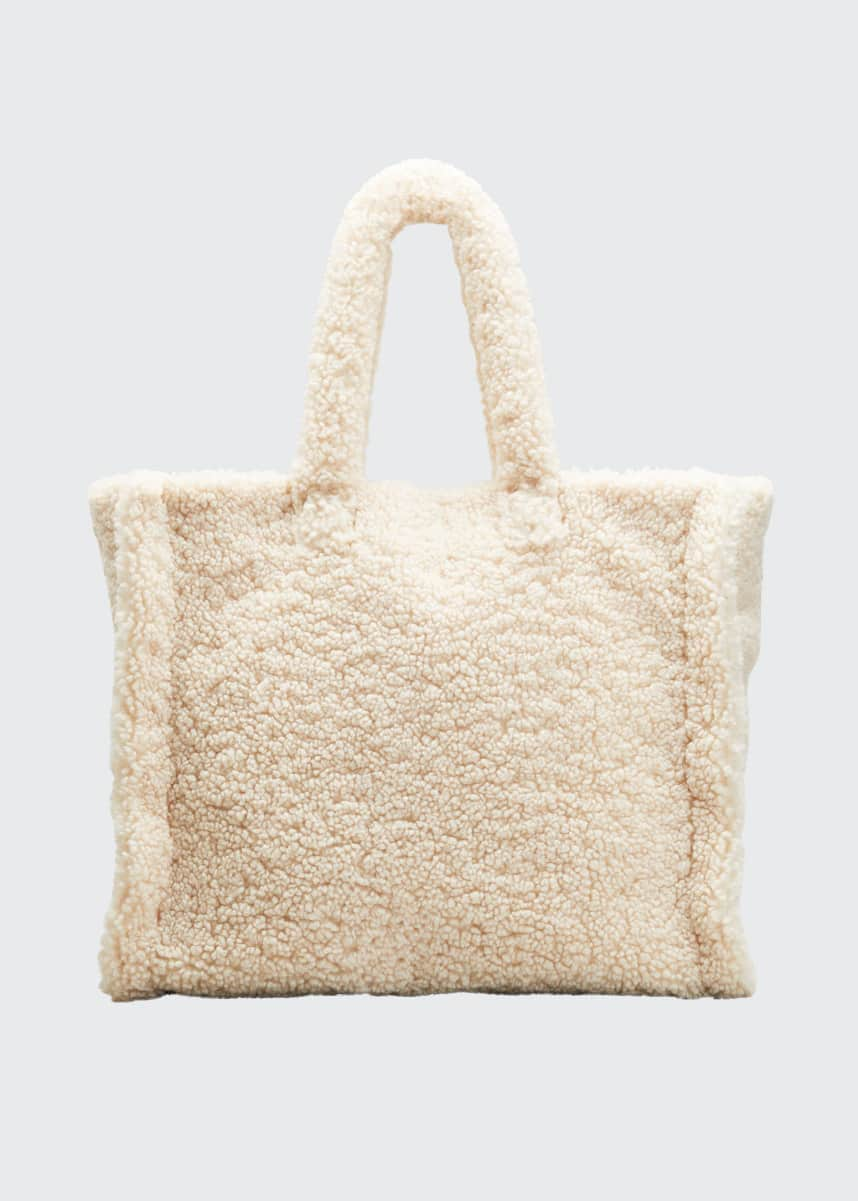 Stand Studio Lola Furry Weekender Tote Bag