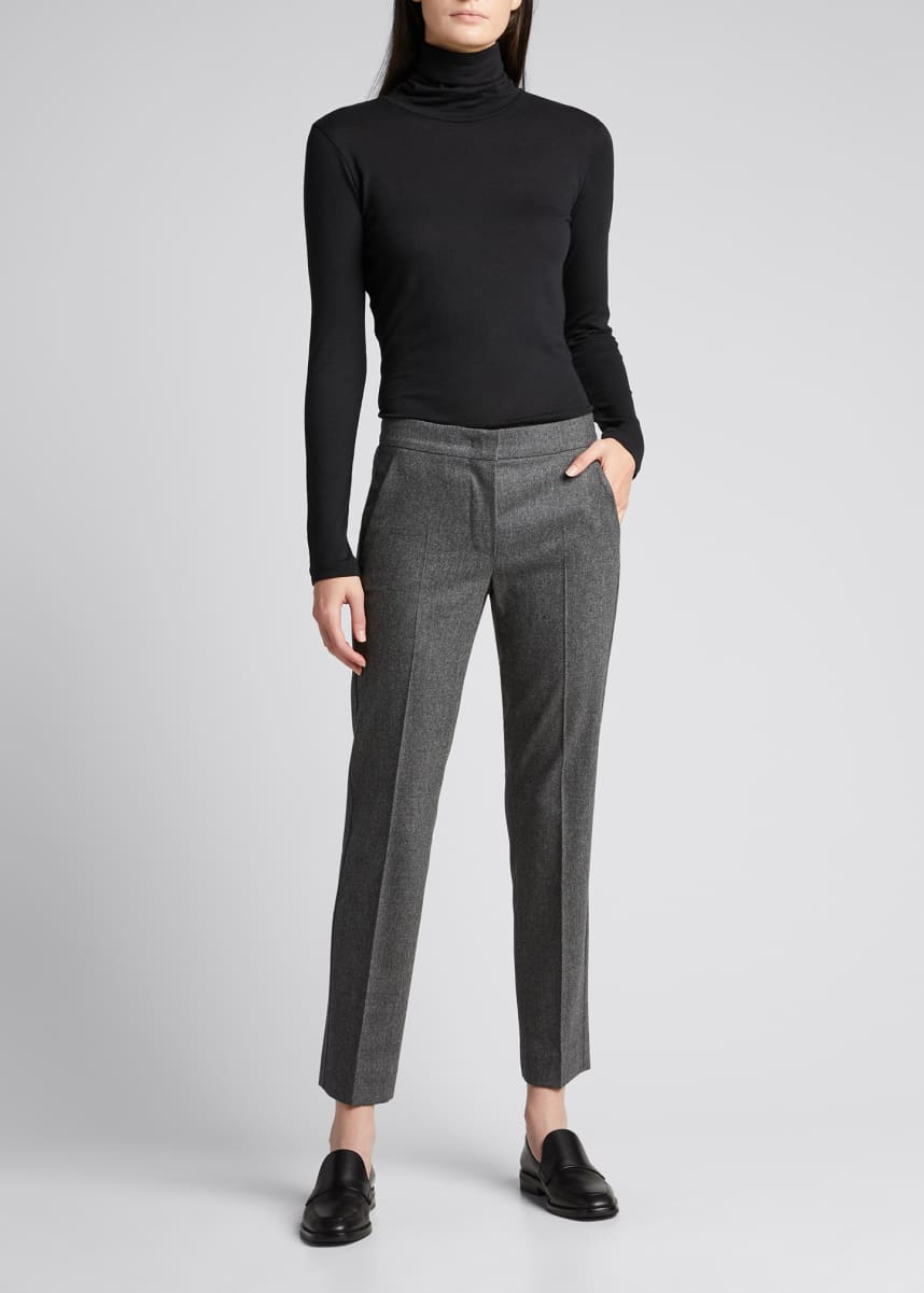 Maxmara Abano Wool-Blend Ankle Trousers