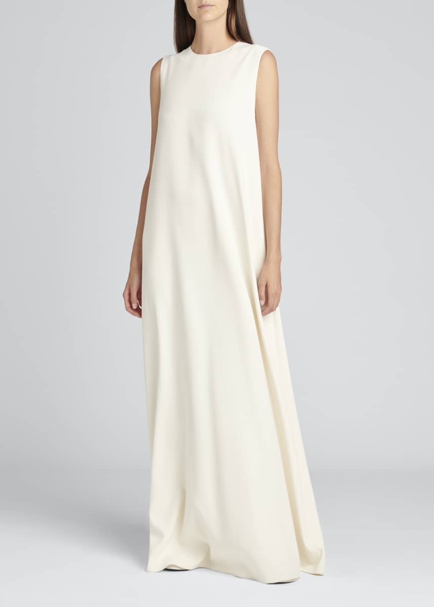 THE ROW Eno Stretch Long Dress