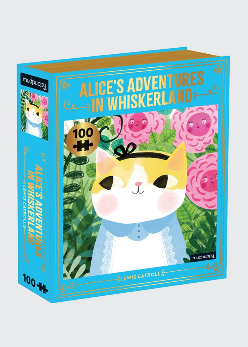 Chronicle Books Alice's Adventures in Whiskerland Puzzle