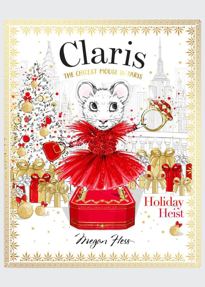 Chronicle Books Claris Holiday Heist Book