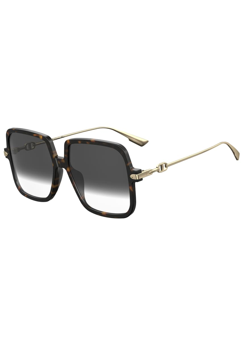 Dior Square Acetate Sunglasses