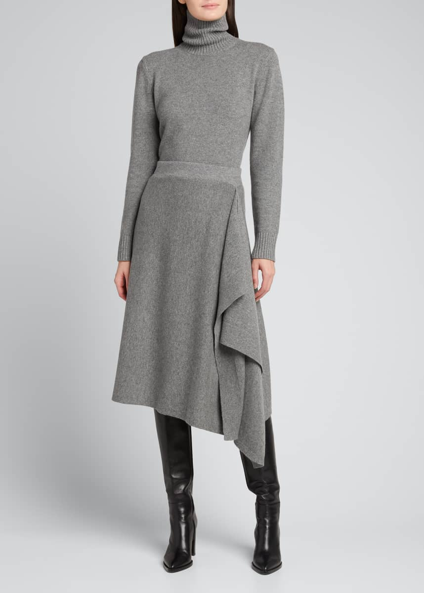 Michael Kors Collection Cashmere Scarf Skirt