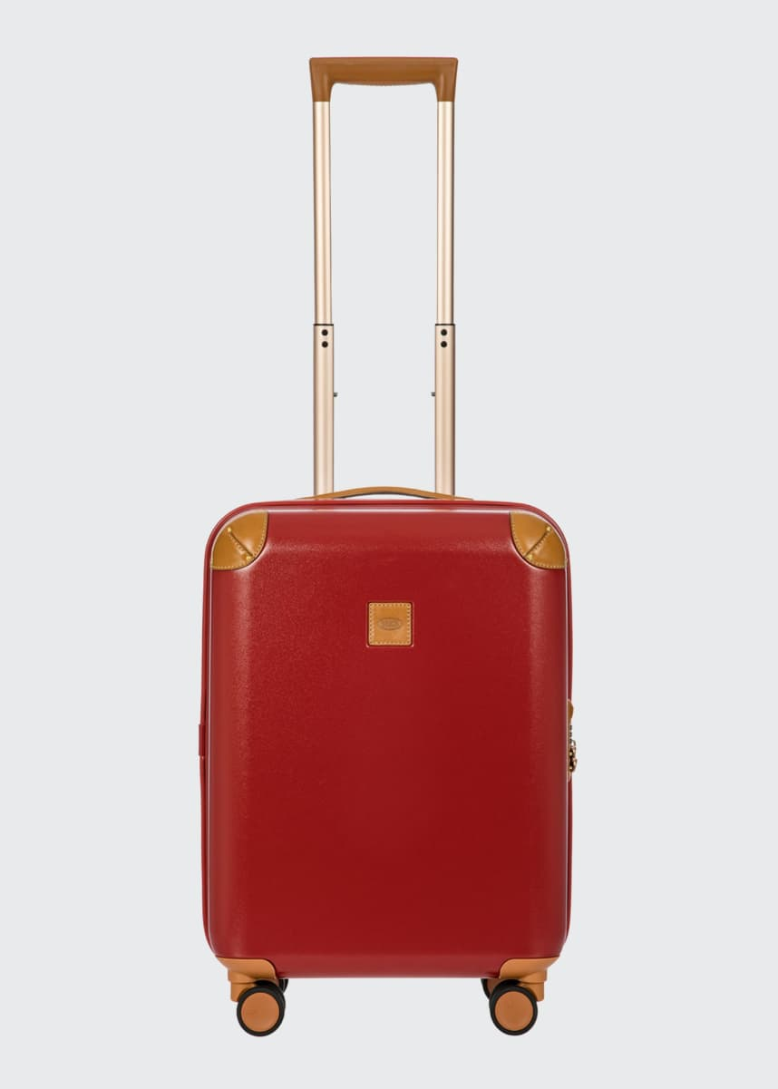 "Bric's Amalfi 21"" Carry-On Spinner Luggage, Red"