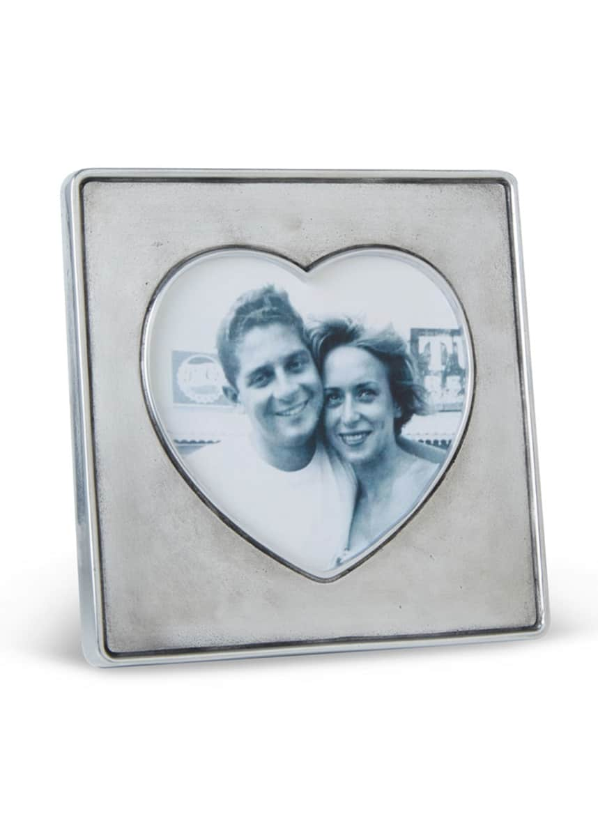 Match Heart In Square Frame