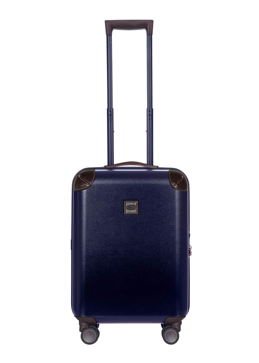 "Bric's Amalfi 21"" Carry-On Spinner Luggage, Blue"