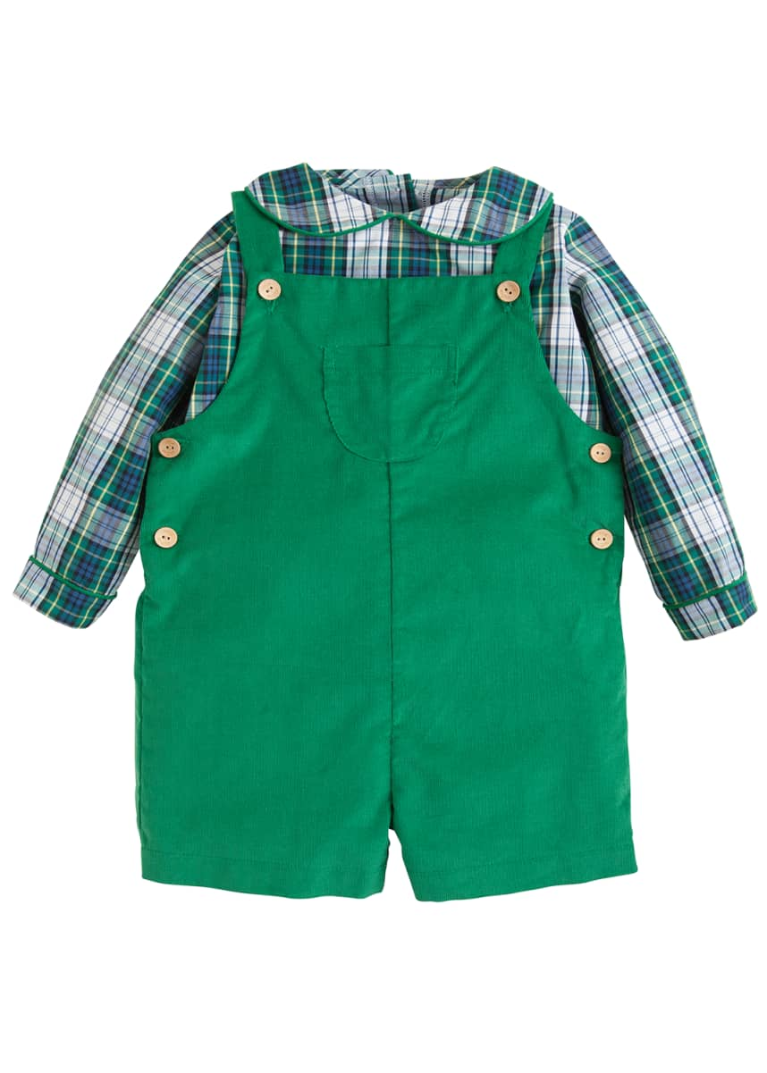 Little English Boy's Jack Two-Piece Outfit Set, Size 6M-4T