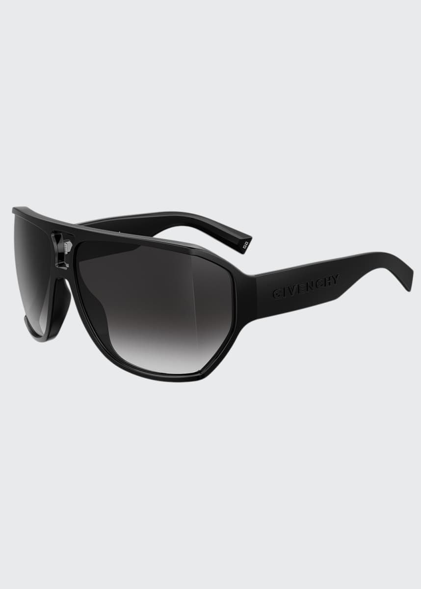 Givenchy Grilamid Nylon Semi-Shield Sunglasses