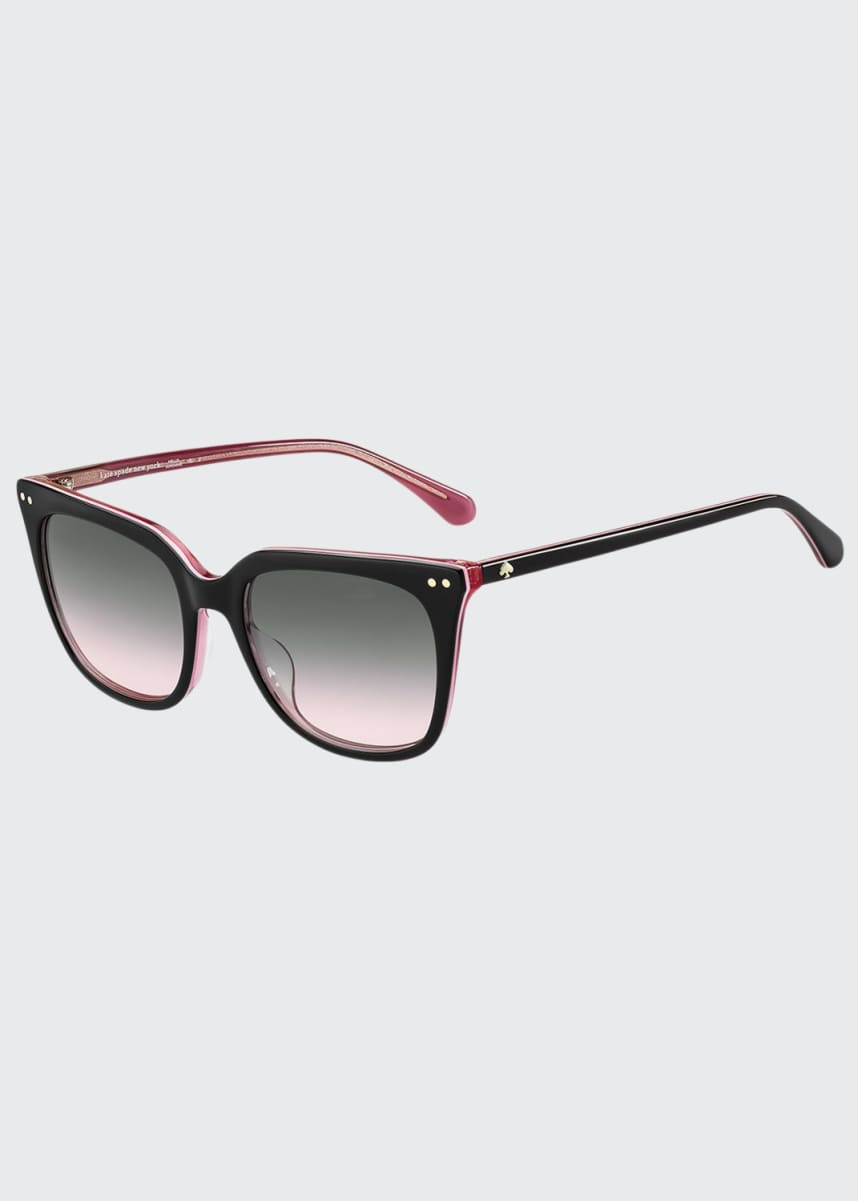 kate spade new york giana square acetate sunglasses