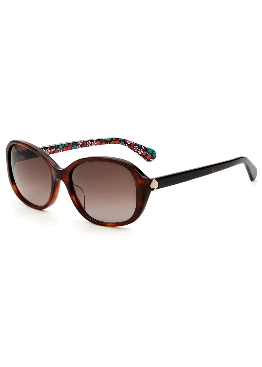 kate spade new york izabella square acetate sunglasses