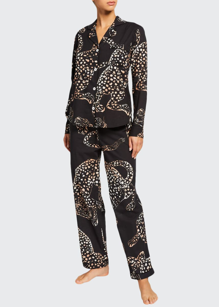 Desmond & Dempsey Soleia Signature Cotton Pajama Set