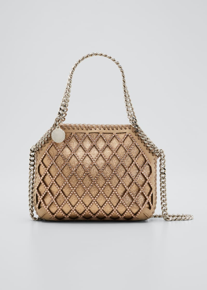 Stella McCartney New Tiny Crystal Tote Bag