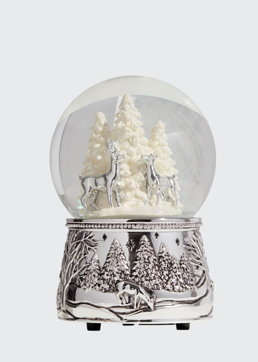 Reed & Barton North Pole Bound Snow Globe