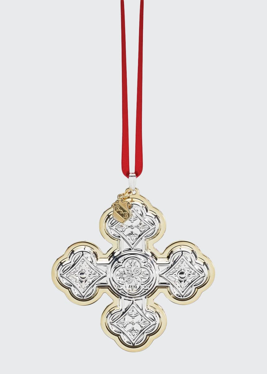Reed & Barton Christmas Cross 50th Edition Ornament