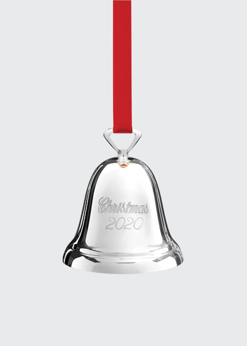Reed & Barton Christmas 2020 Silver-plated Bell Ornament