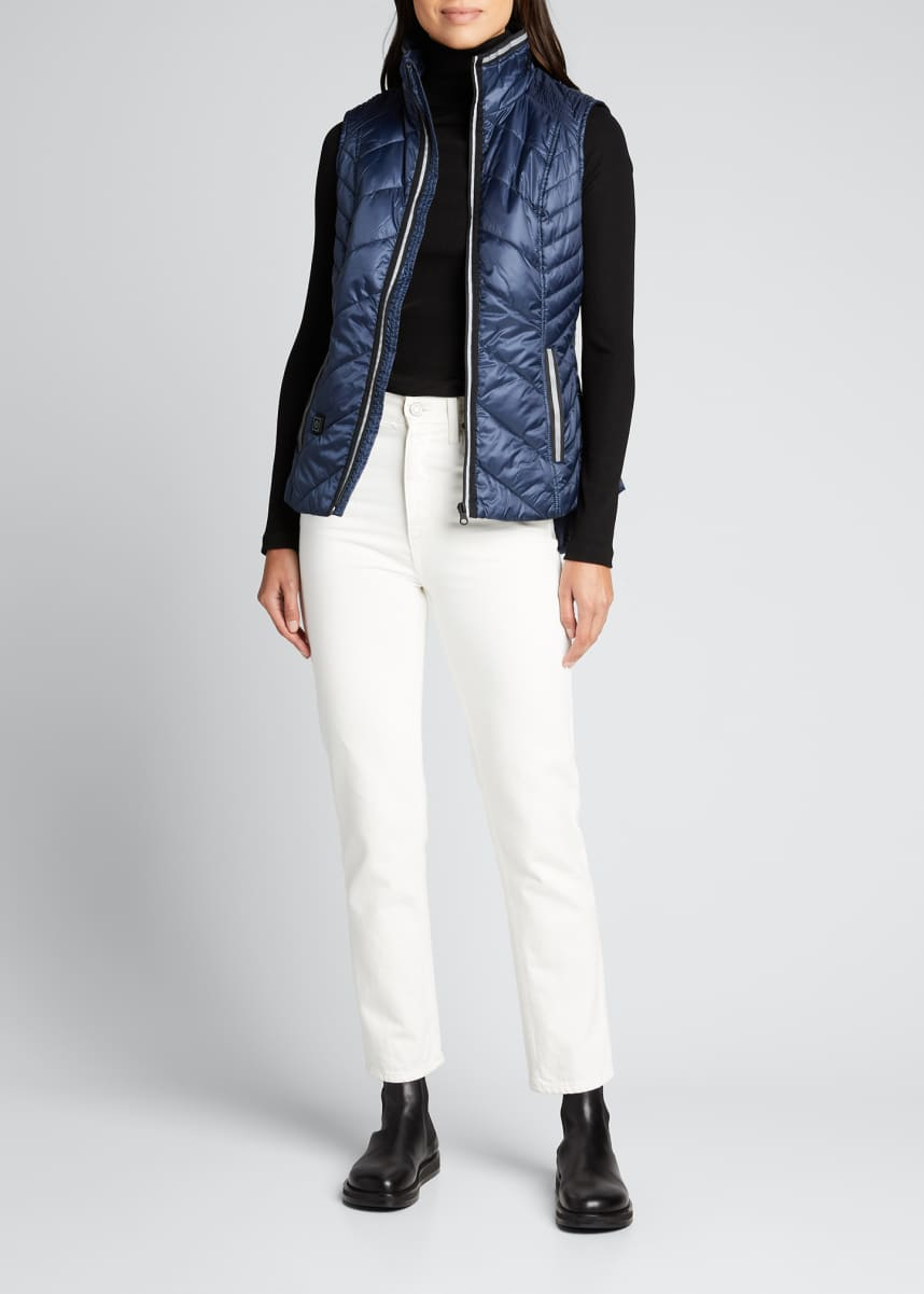 Blanc Noir Heat Smart Quilted Vest