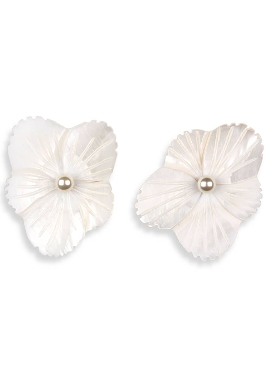 Jennifer Behr Kay Flower Stud Earrings