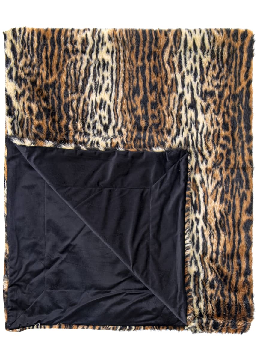 Ditz Designs By The Hen House Tiger Throw