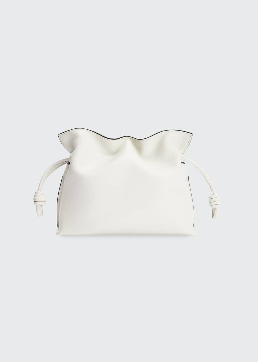 Loewe Flamenco Mini Napa Drawstring Clutch