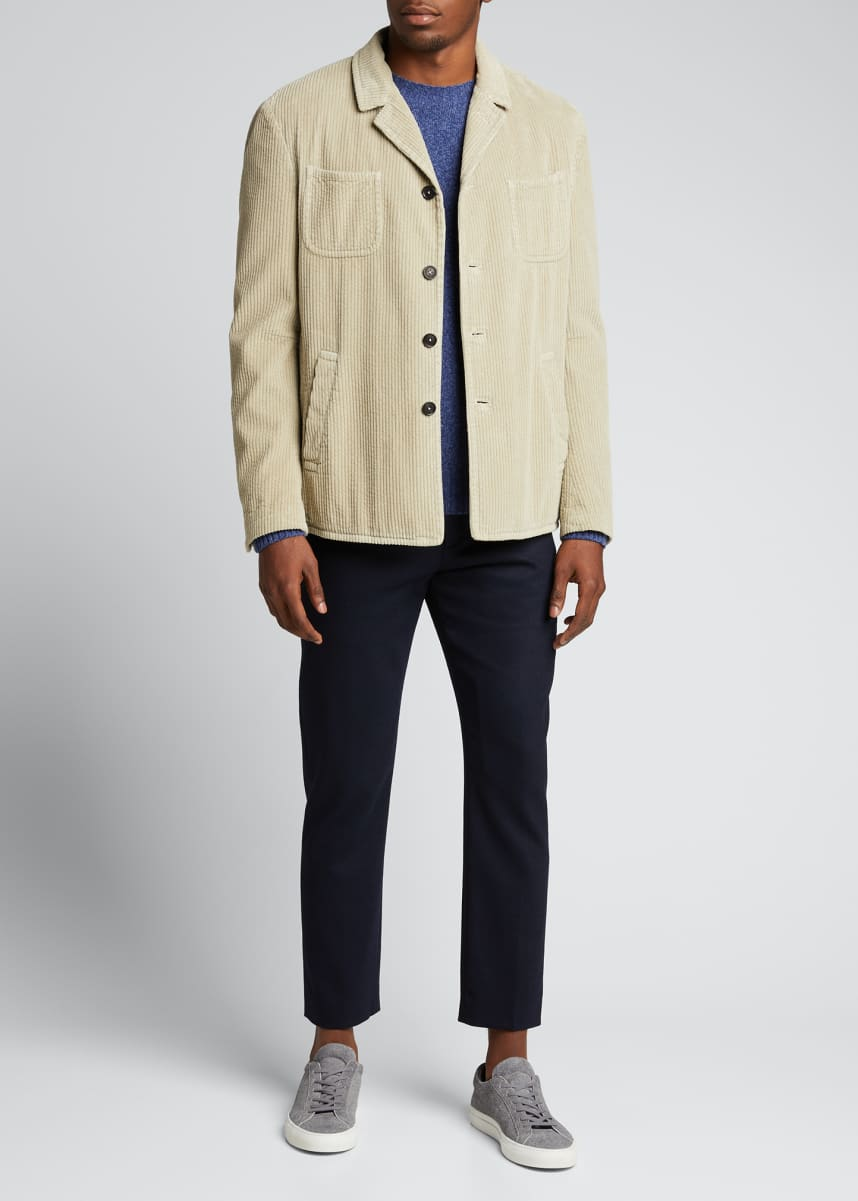 Massimo Alba Men's 4-Pocket Corduroy Jacket