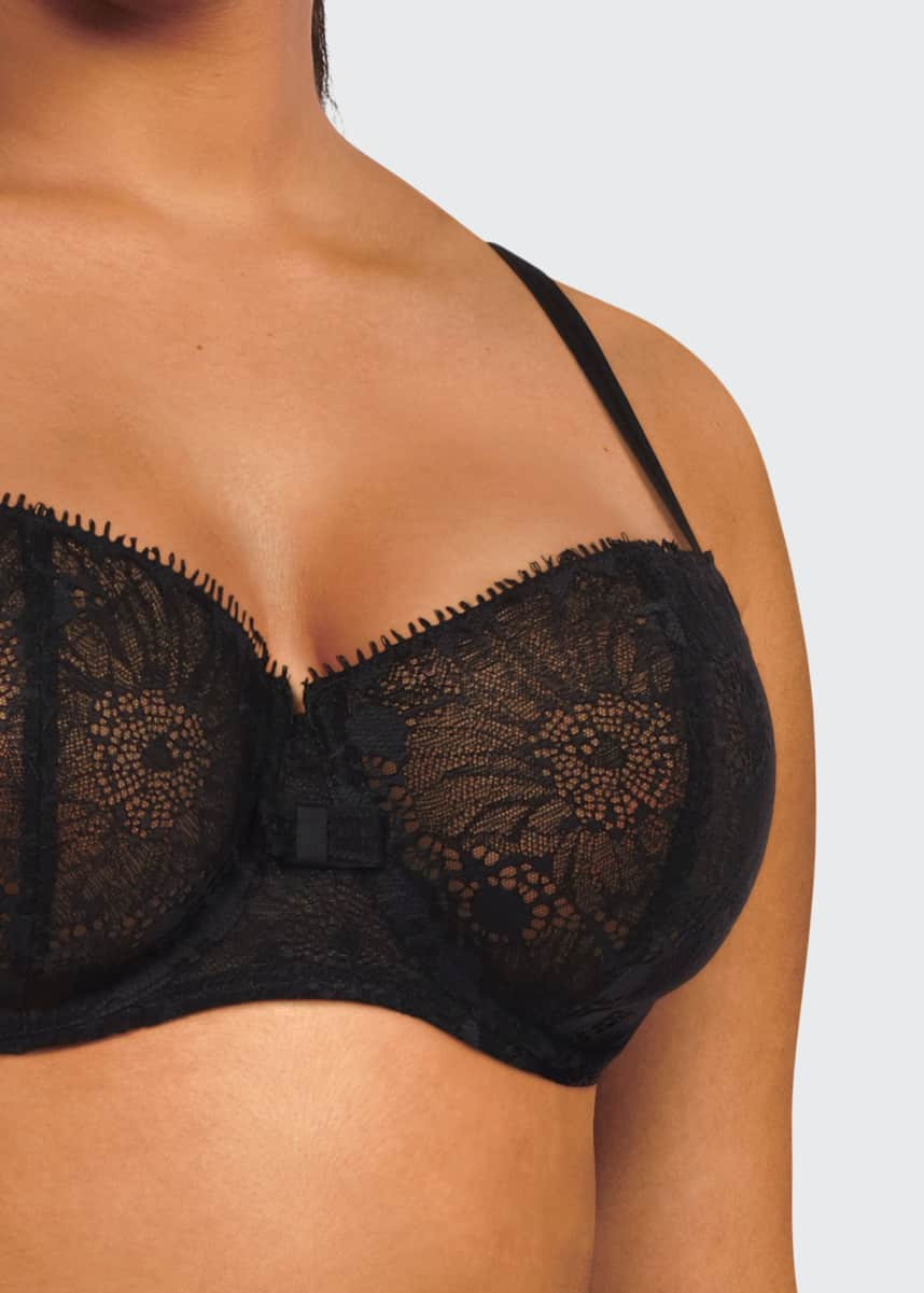 Chantelle Day to Night Lace Unlined Demi Bra