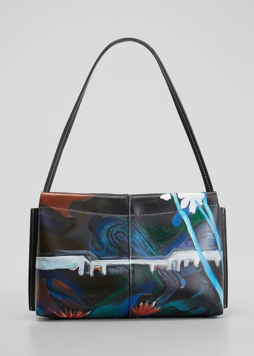 Wandler x Megan Gabrielle Carly Mini Painted Print Shoulder Bag