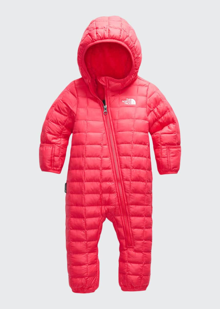 The North Face Girl's Thermoball Eco Puffer Snowsuit, Size 6-24M