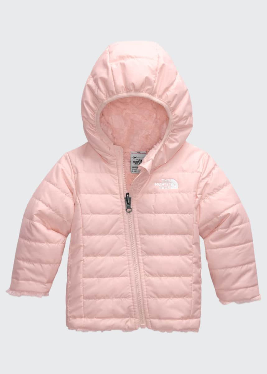 The North Face Girl's Mossbud Swirl Reversible Quilted Jacket, Size 6-24M