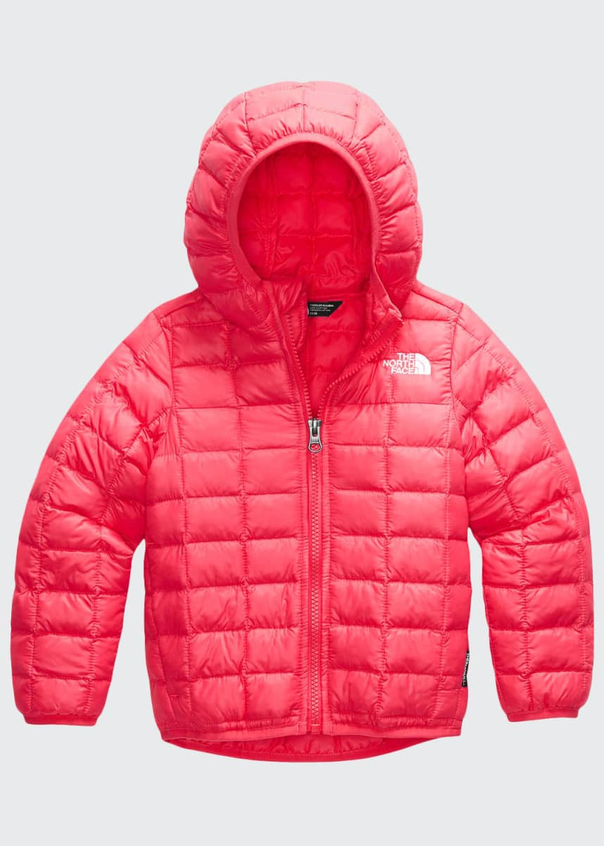 The North Face Girl's Thermoball Quilted Hooded Jacket, Size 2-4T
