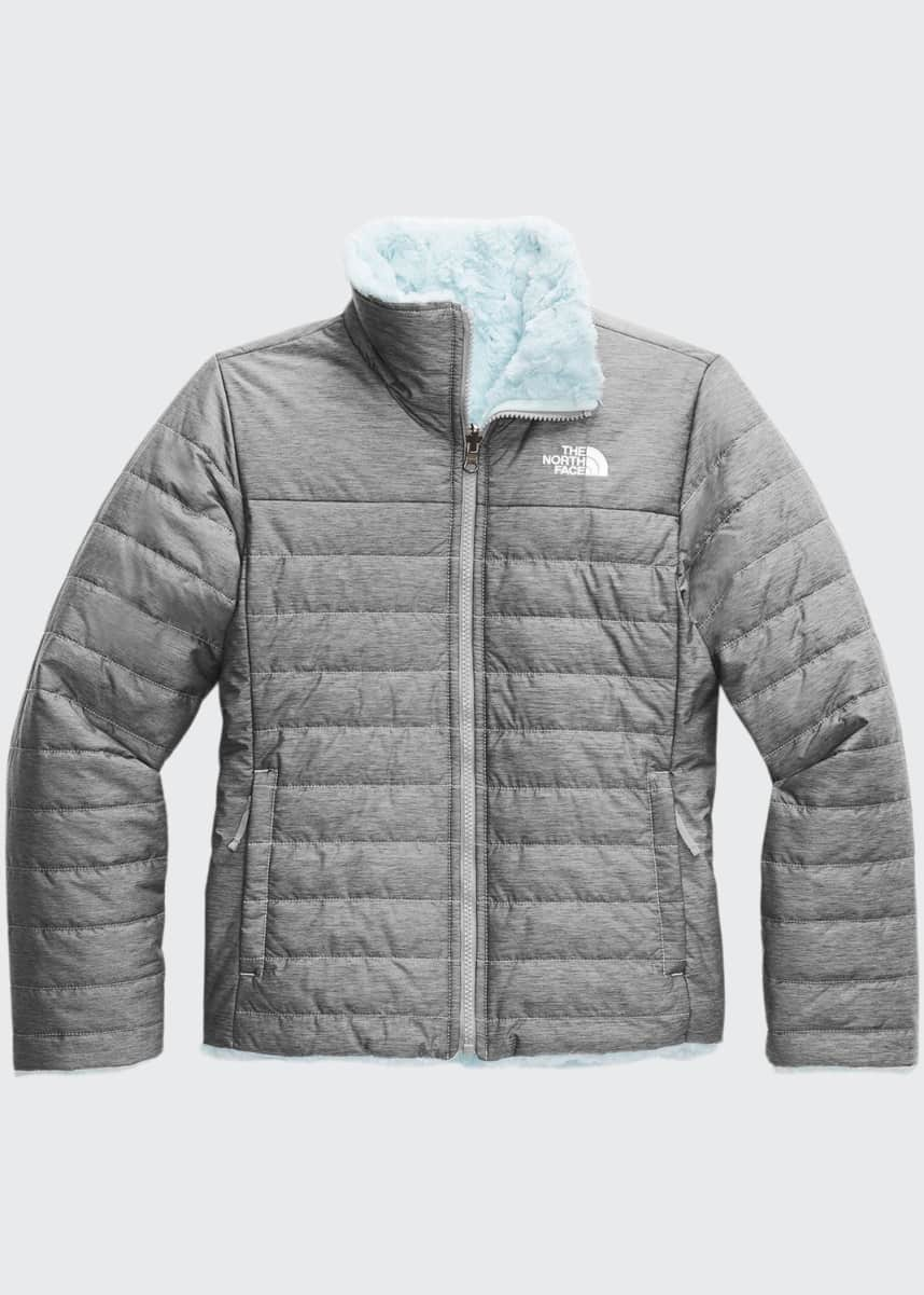 The North Face Girl's Mossbud Swirl Reversible Quilted Jacket, Size XXS-XL