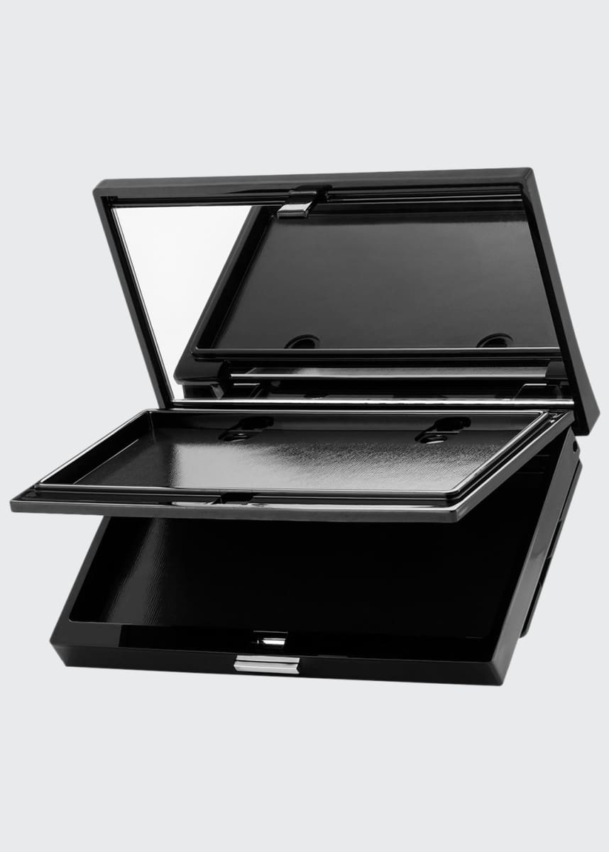 Trish McEvoy Deluxe Makeup Wardrobing Refillable Magnetic Dual-Level Compact with Planner Charger