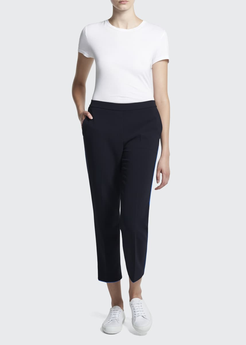 Theory Treeca Pull-On Admiral Crepe Pants