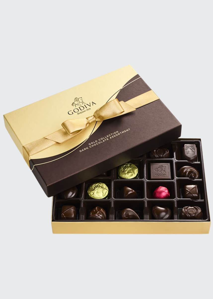 Godiva Chocolatier 22-Piece Dark Chocolate Gift Box