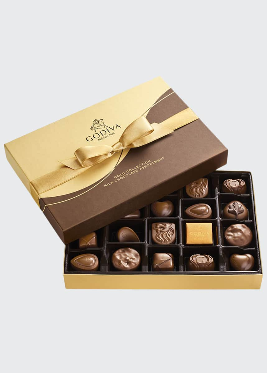 Godiva Chocolatier 22-Piece Milk Chocolate Gift Box