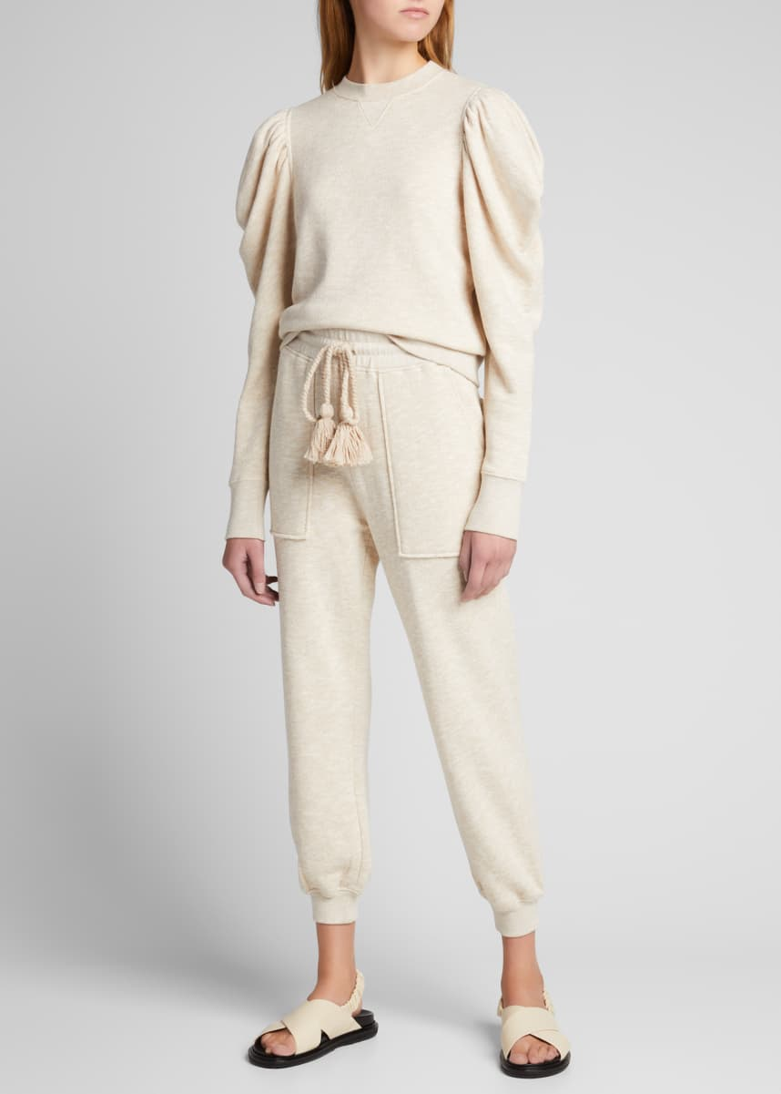 Ulla Johnson Charley Cotton Sweatpants