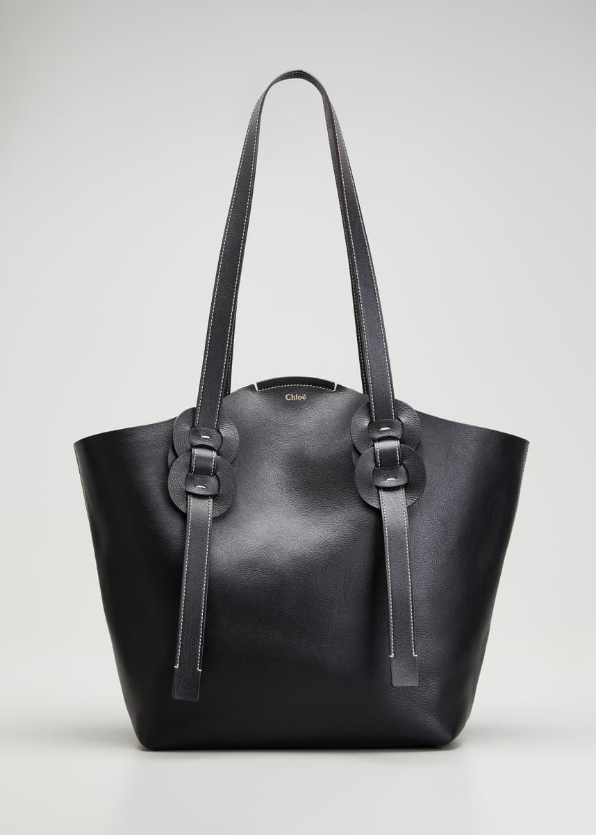 Chloe Darryl Medium Leather Tote Bag