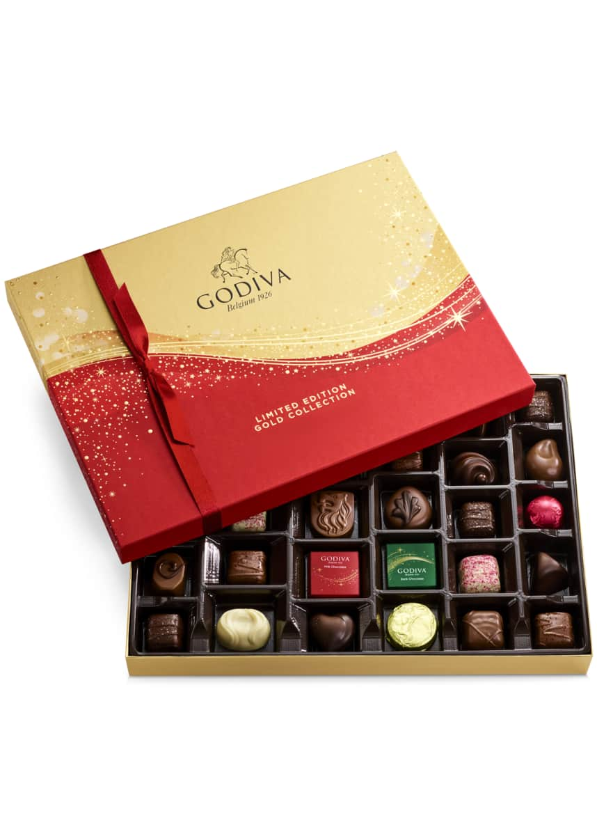 Godiva Chocolatier 32-Piece Holiday Gift Box