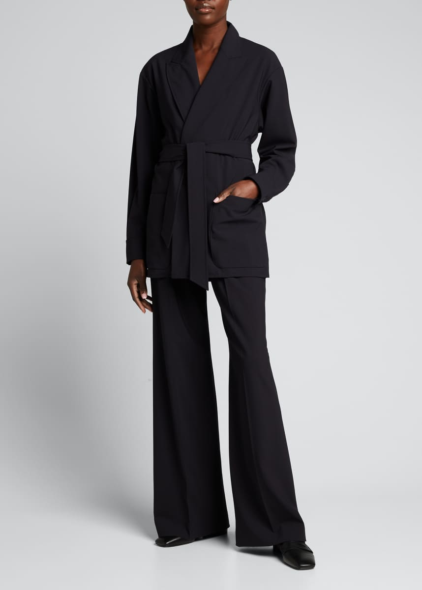 Maxmara Bosh Belted Wool-Blend Jacket