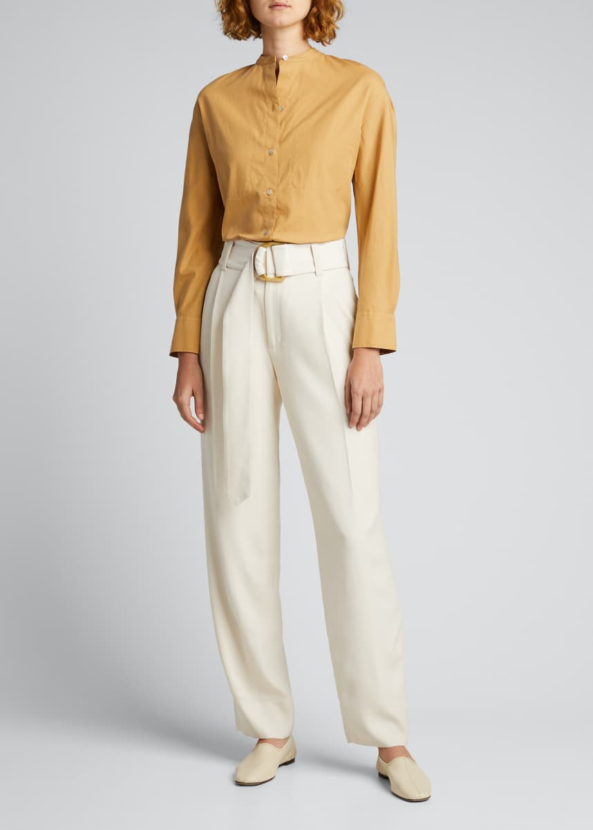 Vince Belted Tapered Pants