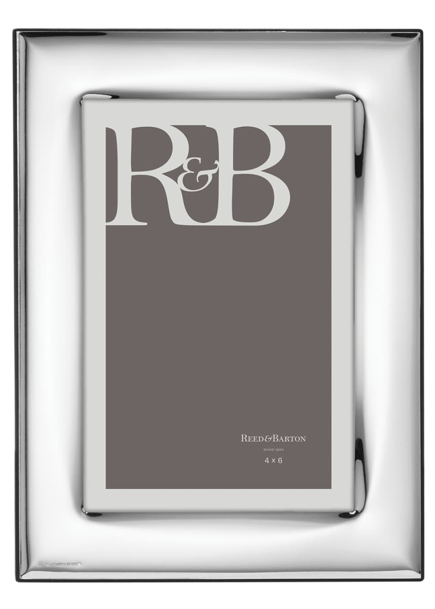 "Reed & Barton Naples Silverplate Frame, 4"" x 6"""