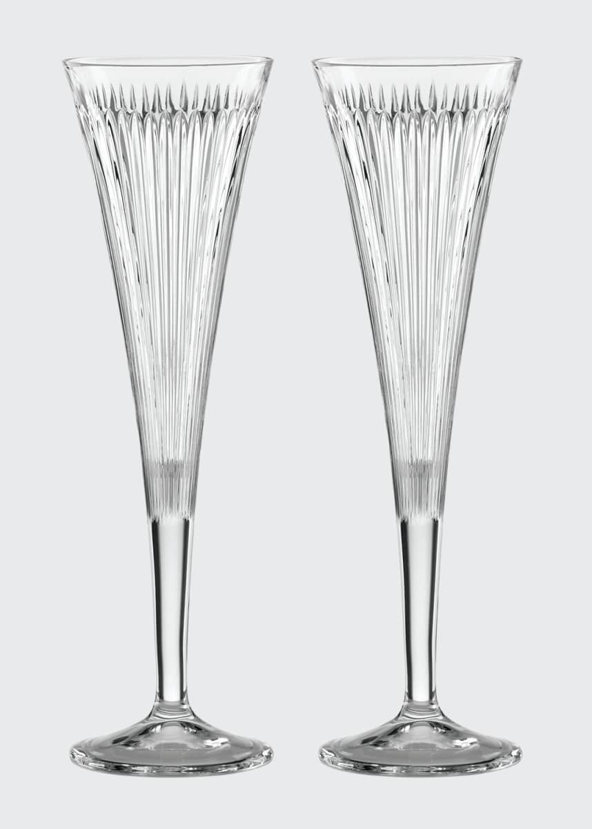 Reed & Barton New Vintage Hanson 2-Piece Champagne Flute Set