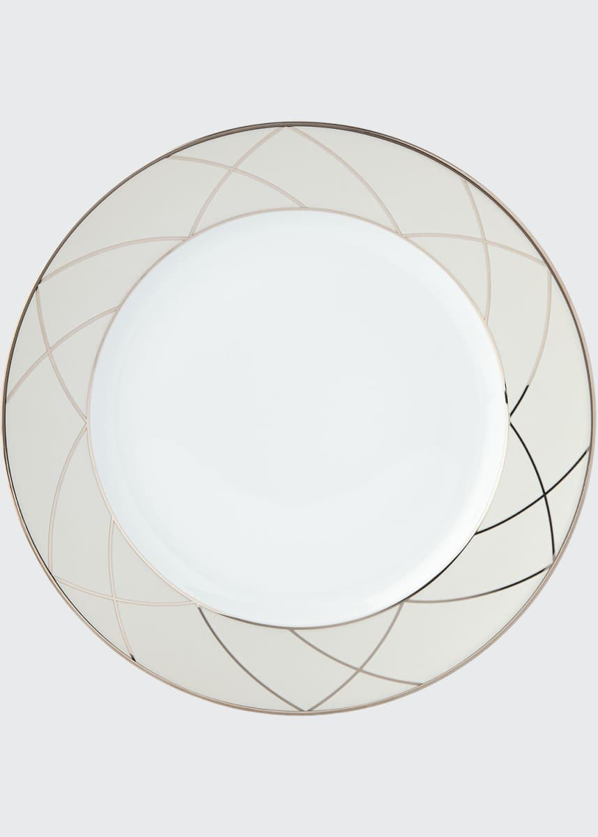 Haviland Clair de Lune Arches Dinner Plate