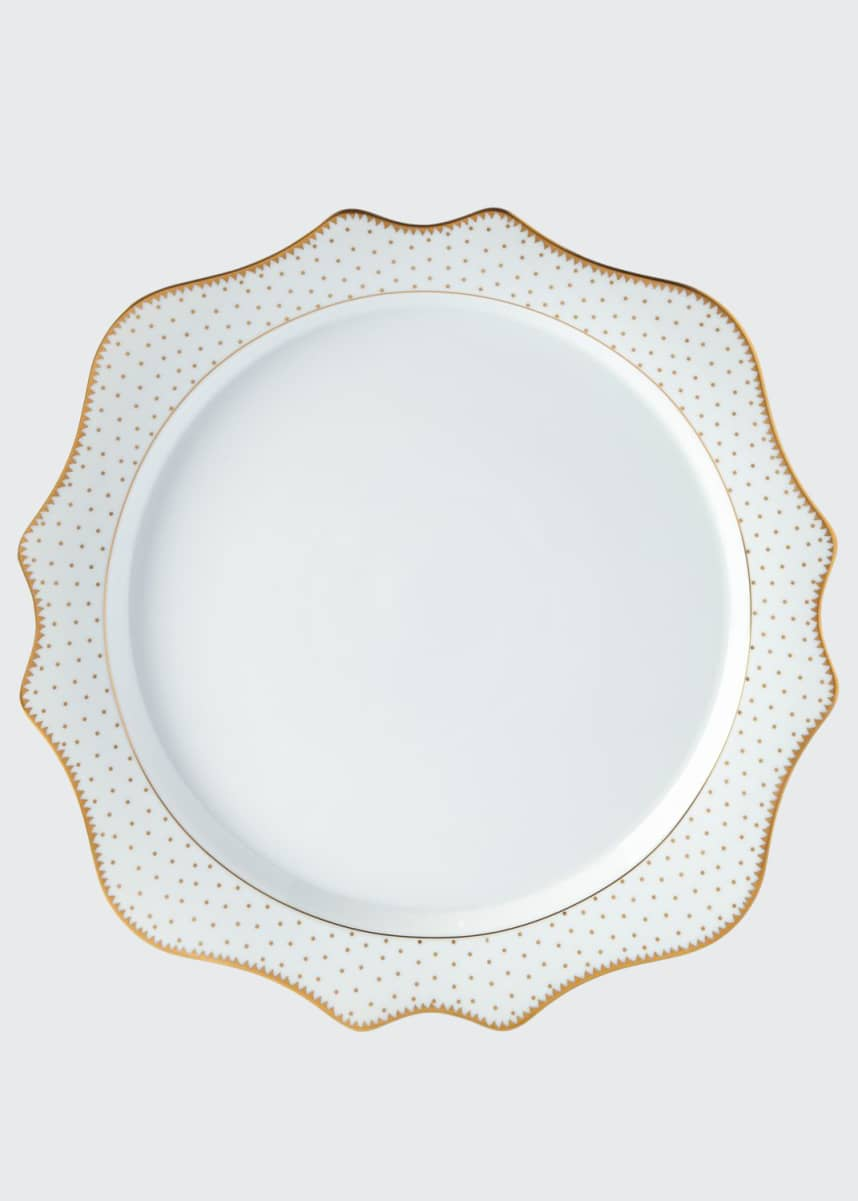 Anna Weatherly Simply Anna Antique Polka Charger Plate