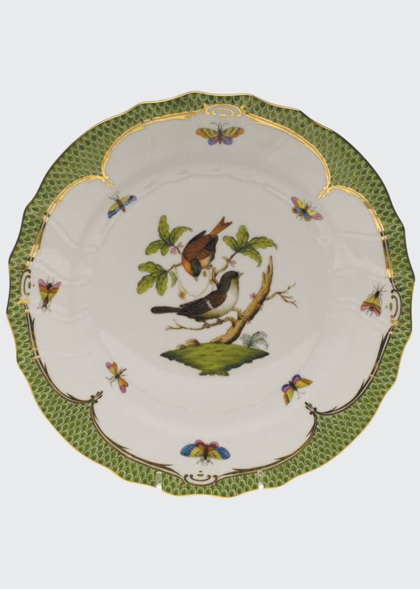 Herend Rothschild Bird Dinner Plate #4