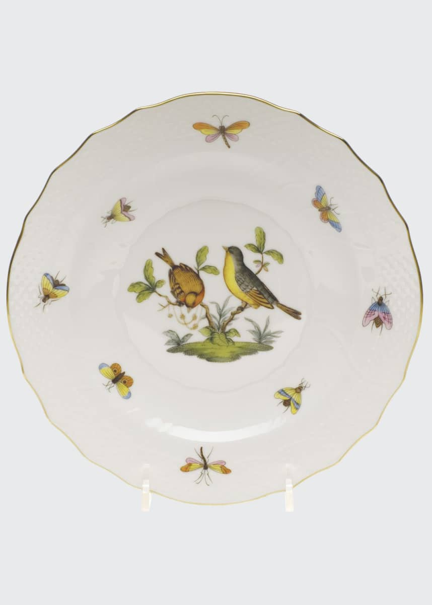 Herend Rothschild Bird Salad Plate #7