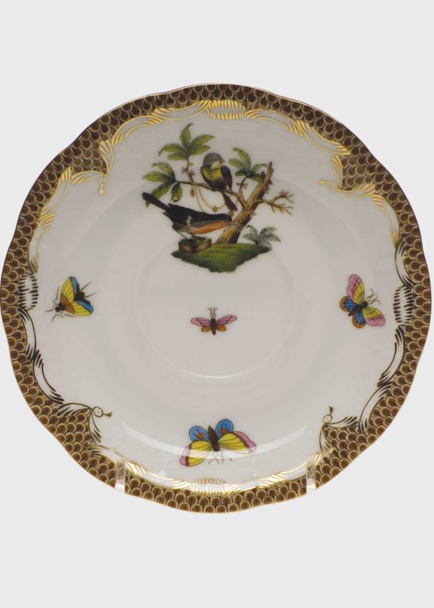 Herend Rothschild Bird Saucer #2