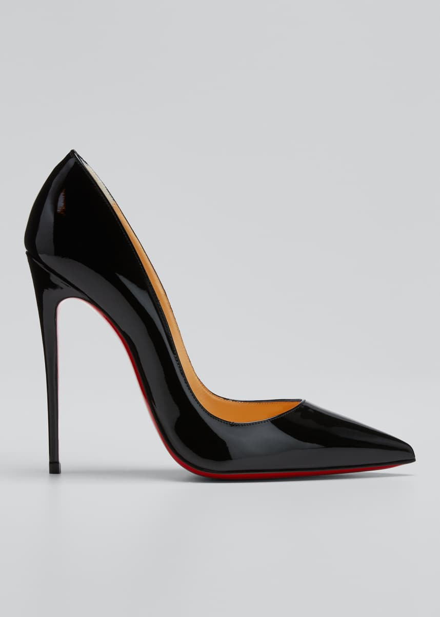Christian Louboutin So Kate Patent Red Sole Pumps