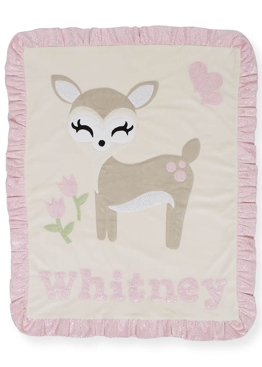 Boogie Baby Personalized Dearest Hooded Towel Personalized Dearest Plush Blanket